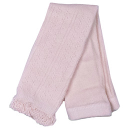 Evie's Closet Pointelle Footless Tights - Pink
