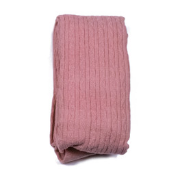 Evie's Closet Combed Cotton Footed Tights - Pink