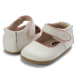 Livie & Luca Penny Baby Shoes - Bright White (*New Sizes!*)