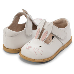 Livie & Luca Molly II Shoes - Bright White Bunny