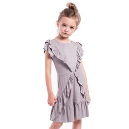 Imoga Milla Studded & Ruffled Knit Dress - Slate