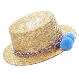 Blueberry Bay Atlantis Boater Hat