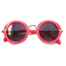 Blueberry Bay Round Sunnies - Magenta