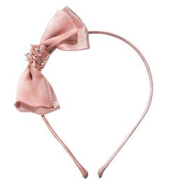 Tutu Du Monde  Wild Hearts Dreamer Bow Headband - Pink Chablis
