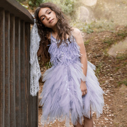 Tutu Du Monde  Wild Hearts Willow Wanderer Tutu Dress - Jacaranda