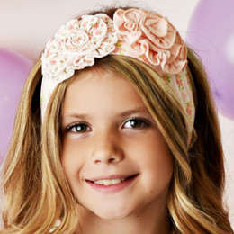 Swoon Baby by Serendipity  Blush Petal Headband