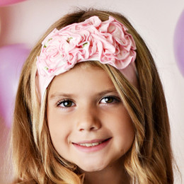 Swoon Baby by Serendipity  Pink Posie Headband
