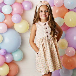 Swoon Baby by Serendipity  Blush Petal Pocket Dress