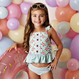 Swoon Baby by Serendipity  Flora Bella 2pc Tunic Swimmy