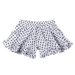 Paper Wings  Frilled Shorts - Black Stars
