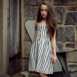 Jak & Peppar   Wild World Riley Dress - Navy Stripe