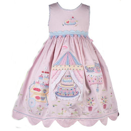 Cotton Kids Garden Tea Party Dress