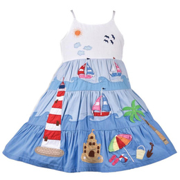 Cotton Kids Under The Sea Beach Dress