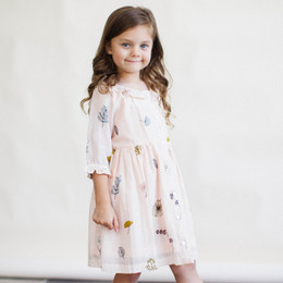 Lali Kids The Botanist's Daughter Ivy Dress - Pressed Flowers