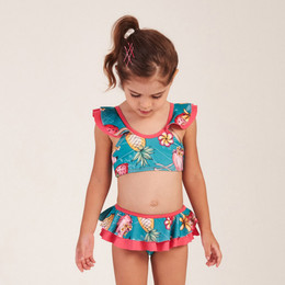 Mon Sucre Tropical Delight 2pc Skirted Swimsuit