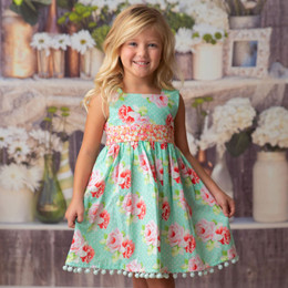 Haute Baby    Garden Isle Dress