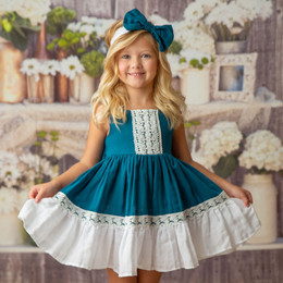 Haute Baby    Ocean Breeze Dress