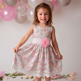 Haute Baby    Pinkalicious Dress