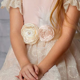 Frilly Frocks Julianna Rose Sash