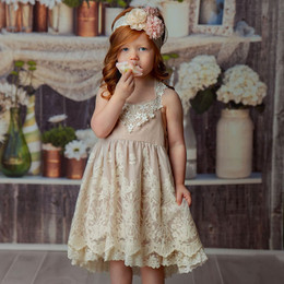 Frilly Frocks Eleanor Lace Dress