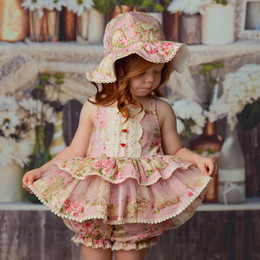Frilly Frocks Florance 2pc Tunic & Bloomer Set