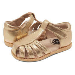 Livie & Luca Paz Sandals - Gold Metallic