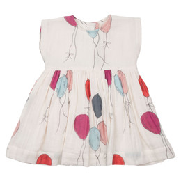 Pink Chicken Adaline Dress - Multi Balloons