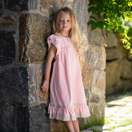 Little Prim    Lily Tree Clara Dress - Blubblegum Bisque