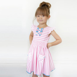 Be Girl Clothing  Ellen Knit Dress - Pink