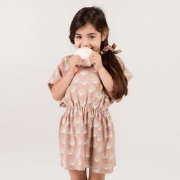 Rylee & Cru Hometown Seashell Kaftan Dress - Petal