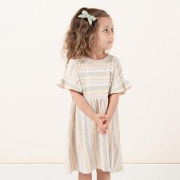 Rylee & Cru Hometown Stripe Babydoll Dress - Carnival