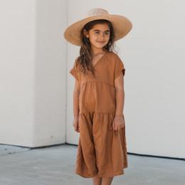 Rylee & Cru Hometown Vienna Dress - Bronze