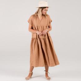 Rylee & Cru Hometown Vienna Dress (Tween/Women) - Bronze