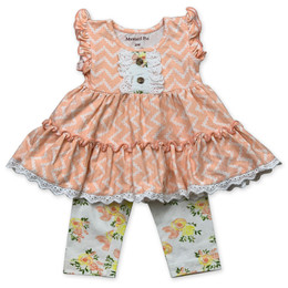 Mustard Pie  Honey Blossom 2pc Lucy Dress & Bloomer