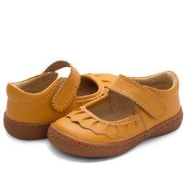 Livie & Luca Ruche Shoes - Butterscotch