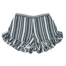 Jak & Peppar    Americana Maron Short - Charcoal Stripe