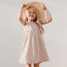 Rylee & Cru  Hometown Strawberry Layla Dress - Lilac