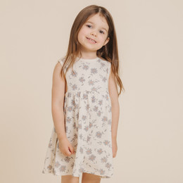 Rylee & Cru       Throwback Daisies Layla Dress - Ivory