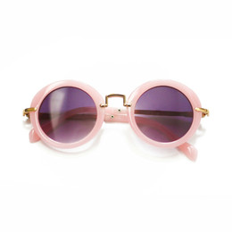 Blueberry Bay Round Sunnies - Pink