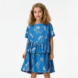 Molo Cammy Dress - Sporty Unicorns