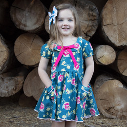Be Girl Clothing    Fall Veda Dress
