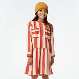 Molo Cacao Dress - Bonbon Stripe