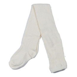 Jefferies Socks Classic Cable Tights - Ivory