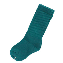 Be Girl Clothing Slouchy Soles Socks - Evergreen
