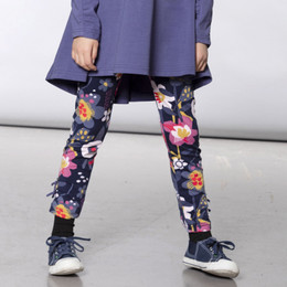 Deux Par Deux    Koala Story Jersey Printed Legging - Flowers