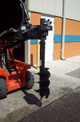"12"" McMillen Skid Steer Auger Bit, Fits all 2.5"" Round Auger Drives"