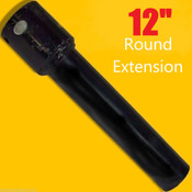 "12"" Skid Steer Auger Extension,Fits 2.5"" Round Auger Bits,Fixed Length,McMillen"
