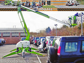 Nifty TM42T Boom Lift, 48.5 Ft Work Height, 25 Ft Outreach, Only 3800lbs, Bi-Energy