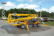 Bil-Jax 55XA Boom Lift, 4 Wheel Drive, Dual Power, Working Height 61 ft