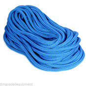"True BlueTree Climbing Rope by Samson,Rated 7300 Lb,12 Strand,Firm 1/2""x 120'"